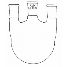 Round Bottom Flask, 3 Neck, Vertical Joint